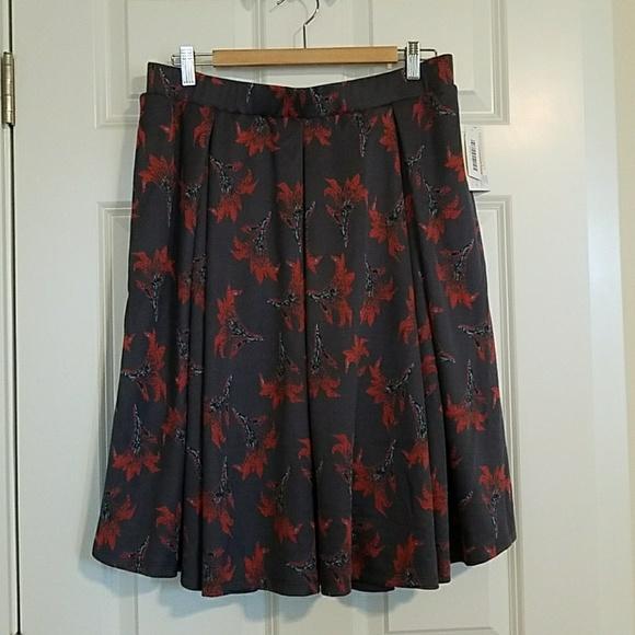 LuLaRoe Dresses & Skirts - LulaRoe Madison skirt NWT XL